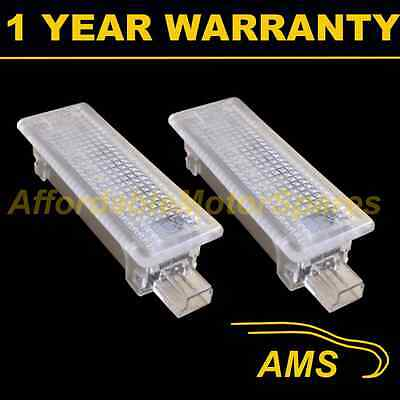 2X For Bmw X5 X6 E70 E71 6 White Led Footwell Boot Door Courtesy Glove Box Lamps
