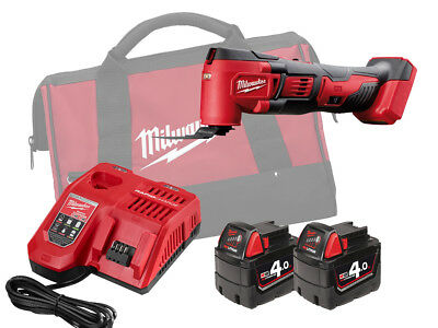 Milwaukee 18V Brushed Quick-Release Multi Tool - M18Bmt - 4.0Ah Pack