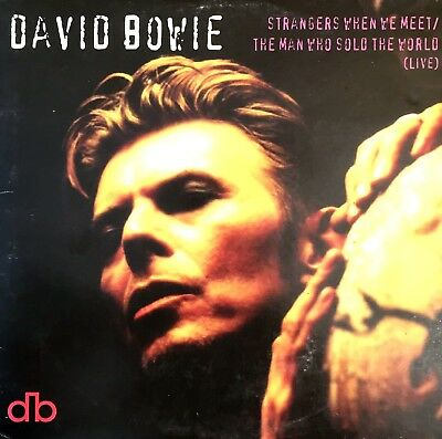 Cd Single David Bowie Strangers When We Meet Cardboard Sleeve Rare Collector 95