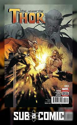 UNWORTHY THOR #3 (MARVEL 2017 1st Print) COMIC