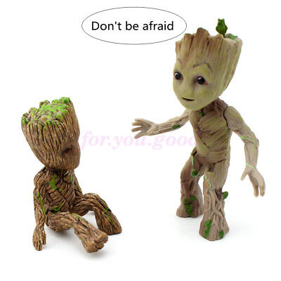 "Cute 2"" Guardians of The Galaxy Vol. 2 Baby Brother Groot Figure Toy Xmas Gift"