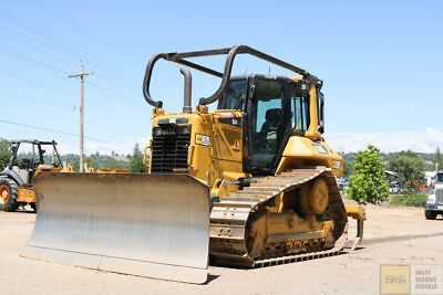 2015 Cat/caterpillar D6N Xl Dozer Cab Heat/ac Pat Blade Ms Ripper 1800Hrs Tier 4