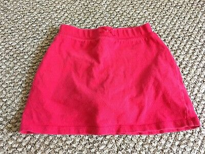 Girls Size 4T Skort Red Skirt Shorts Clothes Bottoms Spring Summer Party Vacay