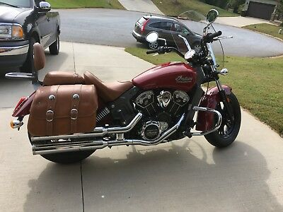 2015 Indian Scout  2015 Indian Scout (numbered bike)