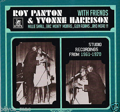 ROY PANTON & YVONNE HARRISON with friends   liquidator music LP  (sealed)   ska