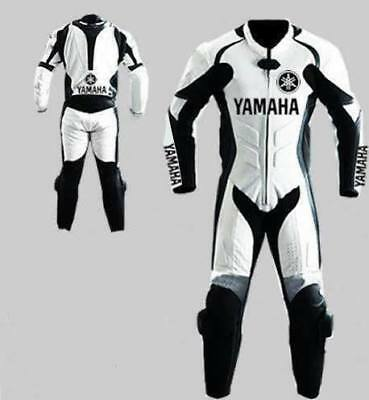Yamaha Motorbike Leather Suit Racing Suit Motorcycle Leather Suit
