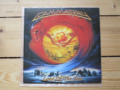 Gamma Ray-Land Of The Free,2LP,1stPress,NOISE REC.,Helloween,Manowar,Hammerfall