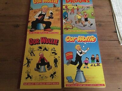 3 Oor Wullie And 1 The Broons Books