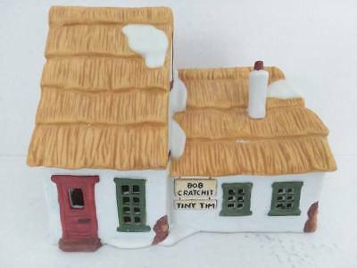Dept 56 Dickens Village The Cottage of Bob Cratchit and Tiny Tim Ret 1995 #65005