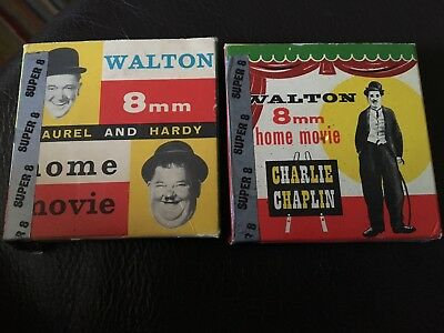 Chaplin And Laurel And Hardy Super 8 Movies Used Tin-Lizzy and Wash Day