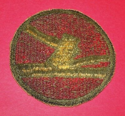 ORIGINAL GREENBACK WW2 84th INFANTRY DIVISION PATCH