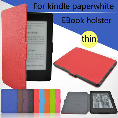 Premium Leather Smart Case For Amazon Kindle Paperwhite 1 2 3 Magnetic Cover