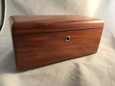 "Lane Vintage Miniature Cedar Chest 9"" from the 50's"
