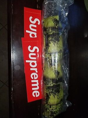 Supreme / ShedRain World Famous Umbrella Green Ds Authentic
