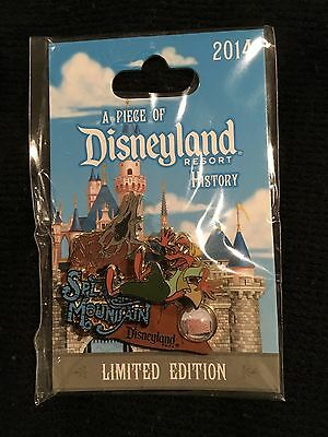 Disney Piece of History Splash Mountain Brier Fox pin LE