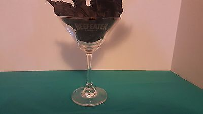 Beefeater London Dry Gin Stemmed Martini Glass BARWARE