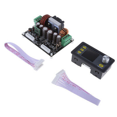 Numerical Control DC 6-50V to 0-50V 5A Buck Boost Power Supply LCD Display