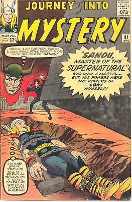 Journey into Mystery # 91       6.0    Thor