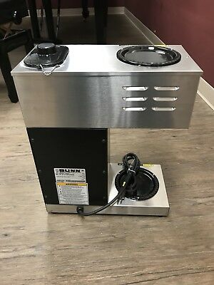 Bunn Commercial Coffee Maker VPR Black Series Model 33200-0001 Nice Condition