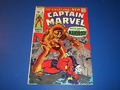 Captain Marvel #18 Silver Age Ms. Marvel gets her powers Key Wow