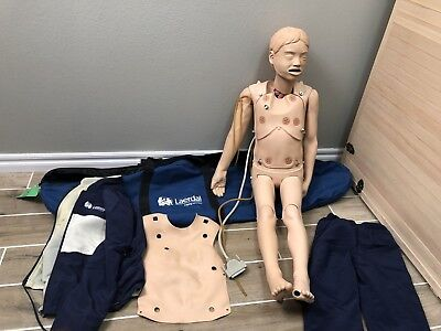 Laerdal MegaCode Kid Manikin Pediatric CPR ACLS Trauma First Aid