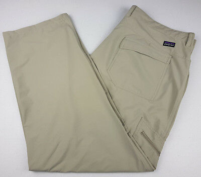 Patagonia Mens Beige Outdoor Hiking Fishing Pants - Size: 40