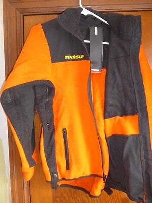 Men's Medium / Women's Large Massif Nomex  Fleece Wildland Firefighting Jacket