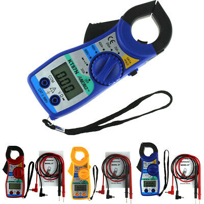 BL_ LCD Digital Multimeter Auto Handheld Clamp Meter Volt AC DC 600 Amp Reader Q