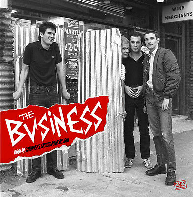 The Business – 1980-‐81 Complete Studio Collection Lp