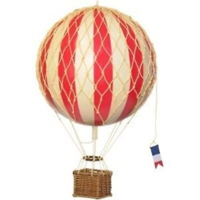 Authentic Models Travels Light Hot Air Balloon Model in True Red New