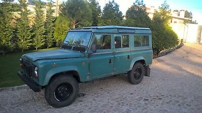 Defender 110 SW LHD from 1984 USA exportable