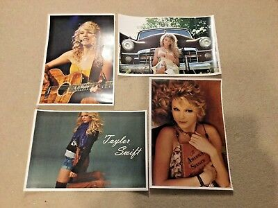 "Taylor Swift Oversized Photo Posters Lot of Four(4) 13"" x 19"""