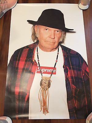 Supreme Neil Young Poster DS