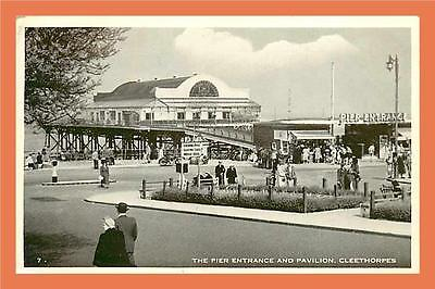 a442/067 CLEETHORPES The pier entrance and Pavilion