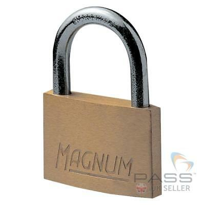 Masterlock CAD30 Magnum Brass Padlock w/ Steel Shackle - 30mm