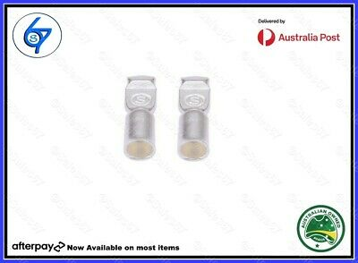 2 x Anderson Plug contacts pins, terminals for 50 amp connectors 6AWG