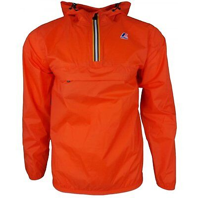 K-way Le Vrai Leon 3.0 Unisex Jacket Coat - Orange Flame All Sizes