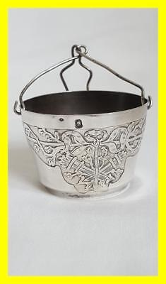 Very Good French 19Th C 1St Standard Silver Teapot Spout Strainer/infuser