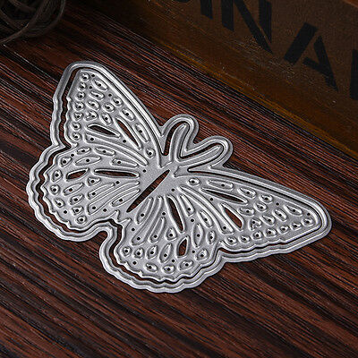 Butterfly Stencil Cutting Dies Scrapbook Album Paper Cards Embossing  Crafts AU