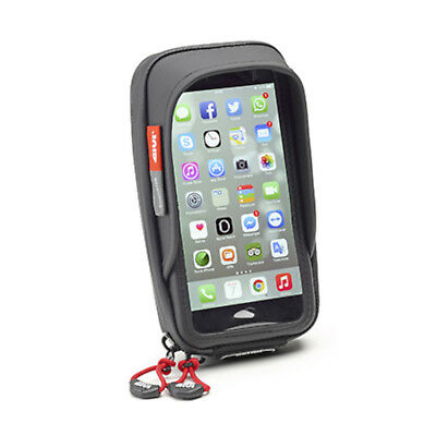 Givi S957B Waterproof Smart Phone Holder For Motorbike Handlebar iPhone/Galaxy