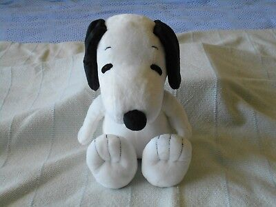 "Peanuts Snoopy Plush Dog 15"" Kohls Cares Excellent Black White Red Collar 15"""