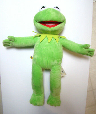 Build A Bear KERMIT THE FROG Puppet Plush Toy Doll