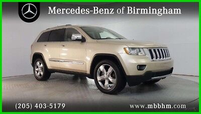 Jeep Grand Cherokee Limited 2011 Limited Used 3.6L V6 24V Automatic RWD SUV Moonroof Premium