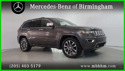 Jeep Grand Cherokee Overland 2017 Overland Used 3.6L V6 24V Automatic RWD SUV Moonroof