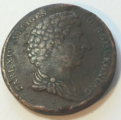 Sweden 1832 1/2 Skilling Great Shape Original Condition Never Been Cleaned #14