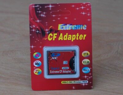 Extreme Compact Flash Card Adapter SD