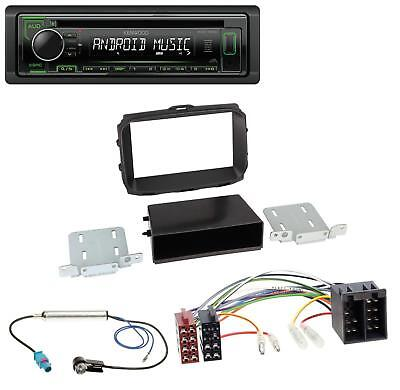 Kenwood USB CD AUX 1DIN MP3 Autoradio für Alfa Romeo Giulietta (2010-2014)
