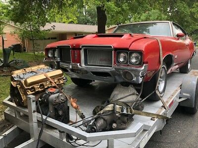 1972 Oldsmobile 442  1972 OLDSMOBILE 442,  SPORTS COUPE FAST BACK,  VERY ORIGINAL SURVIVOR,  TEXAS!