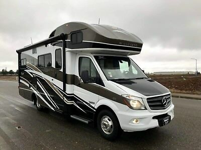 "2017 Mercedes Benz Winnebago View 24G Class C Motorhome Sprinter ""2 Slides"""