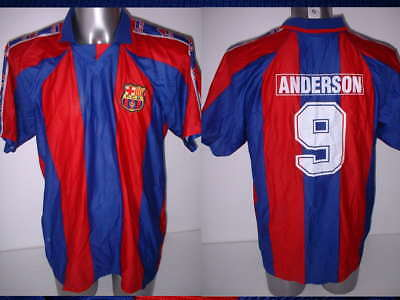 8ea4cdaa60f Barcelona Anderson Official Shirt Jersey Football Soccer Adult XL Brazil Top